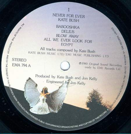 _kate bush - Never for ever - 03