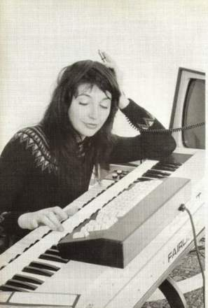 _kate bush - Never for ever - 12