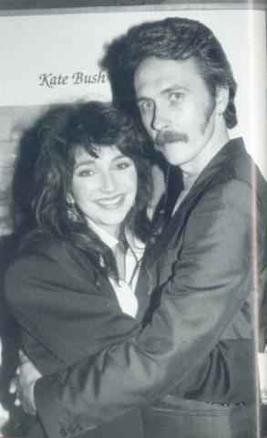 Kate Bush and Del Palmer
