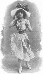 Полер (Polaire) (1874-1939) - французская эстрадная певица, танцовщица, актриса театра и кино. Отличалась очень тонкой талией.