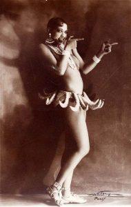 Жозефина Бейкер (Josephine Baker) (1906-1975) — американо-французская танцовщица, певица и киноактриса.