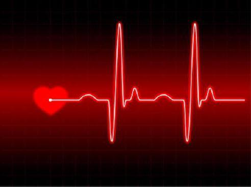 Вектор: abstract heart beats cardiogram