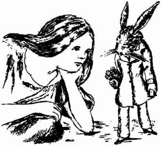 1864 - Lewis Carroll Alice underground_068