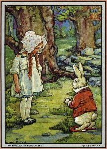 Vintage Alice in Wonderland