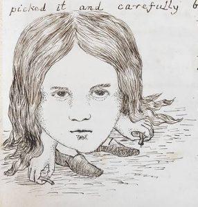 1864 - Lewis Carroll Alice underground_003