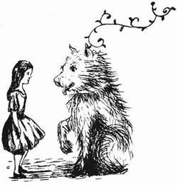 1864 - Lewis Carroll Alice underground_046