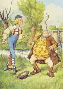 1865 - John Tenniel wonderwond color_61