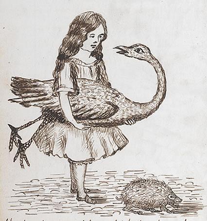 1864 - Lewis Carroll Alice underground_009