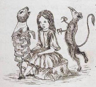 1864 - Lewis Carroll Alice underground_015