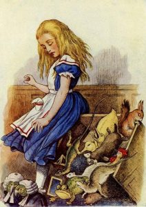 1865 - John Tenniel wonderwond color_39