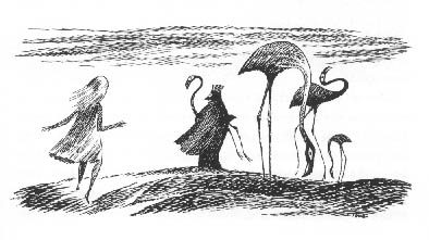 1966_Tove Jansson_Flamingos as Croquet