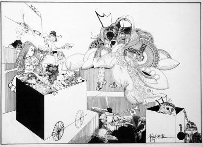 1967_Ralph Steadman wonderland__12